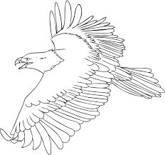 Small Picture Flying Bald Eagle coloring page Animals Town