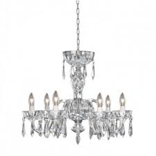 waterford crystal lismore 6 arm 240 v chandelier