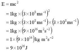 e mc^ solving the equation worked examples