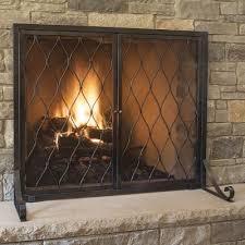 new stonewall fireplace screen