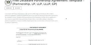 Partnership Agreement Free Template Classy Small Business Partnership Agreement Template Pdf Fffweb