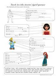 describe physical appearances english