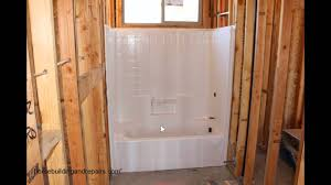 Dont Forget To Insulate Behind Bathtubs Against Exterior Walls - Insulating a bathroom