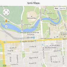 integrating google maps with an ionic application  joshmorony