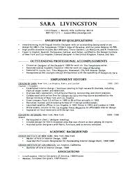 Awesome Resume Examples Simple Interior Design Resume Sample Top Interior Design Resume Samples