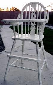little bit of paint refinished antique high chair antique wooden high chair value antique