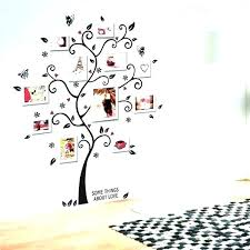 picture frame wall stickers family tree frame family tree stickers for wall family tree picture frame