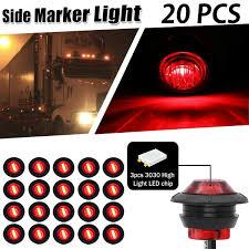 3 4 Led Marker Lights Ebay