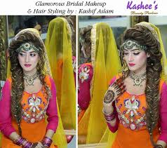 bridal makeup hairstyle 1