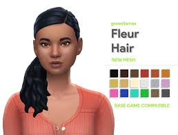 greenllamas is creating Custom Content for The Sims 4 | Patreon | Sims  hair, Sims 4, Sims