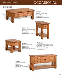 Sunny Designs 3133ro Prices Sunny Designs Sedona Occasional Tables Als Woodcraft