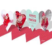 valentines day photo cards.  Valentines Always Heart Paper Chain  Valentineu0027s Day Photo Cards To Valentines B