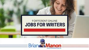 different online jobs for writers brian manon 9 different online jobs for writers