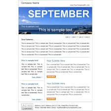 sample company newsletter email marketing template samples newsletter template samples