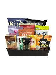 gluten free gourmet snacks gift basket