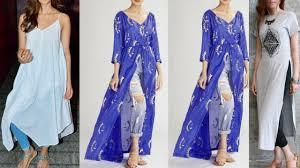 Kurta Designs To Wear With Jeans Latest Jeans Kurti Designs 2018 College Wear Kurti Ideas