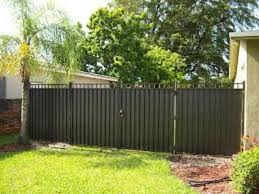 privacy fence design. Inexpensive Privacy Fence Ideas : Aluminum Designs Privacy Fence Design D