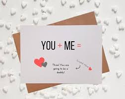 valentines day pregnancy announcement cards pregnancy announcement husband etsy