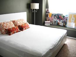 gray and orange bedroom. lovely gray bedroom with orange accents! paint wall color. colors. and