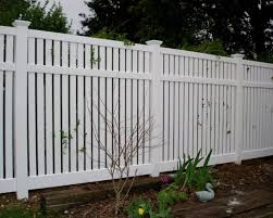 vinyl fence styles. Simple Vinyl SemiPrivate Vinyl Fence Style For Styles C