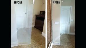 clean hard water spots from glass shower doors mesmerizing