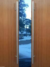 Modern Premium Door Handles Pull Push Stainless Steel Entrance