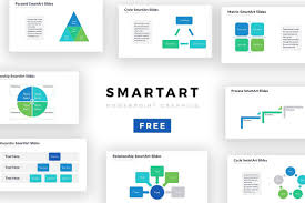 Ppt Smart Art Powerpoint Smartart Templates Powerpoint Template Free