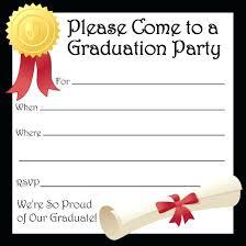Graduation Party Announcement Free Printable Graduation Party Invitations Supavaluebiz Co