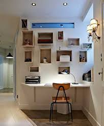small home office designs. Small Home Office Design Ideas. Randomly Placed Open Cubby Boxes Mounted On A Wall Provide Designs I