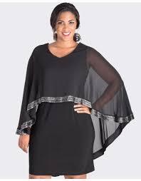 Fortunata Cape Shift Dress