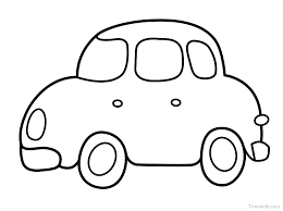 Car Printable Coloring Pages Pdf Roary Racing Free Colouring Vehicle