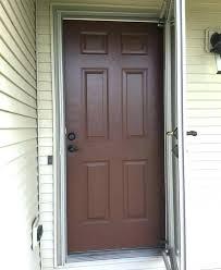 how to fix a storm door