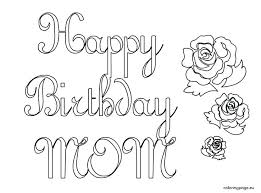 Happy Birthday Colouring In Pages Trustbanksurinamecom