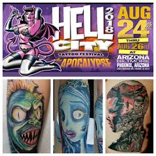 In 11 More Days We Will Be At The Hell City Tattoo Festival 2018