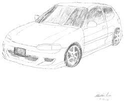 Honda drawings