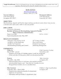 Sales Resume Retail Sales Manager Job Description Non Retail Sales