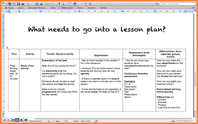 9+ how to make a lesson plan | Bussines Proposal 2017
