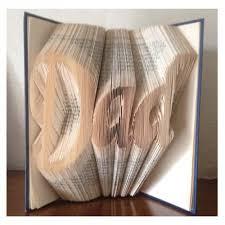 Book Folding Patterns Delectable Dad Script Book Folding Pattern Book Folding Patterns And Book