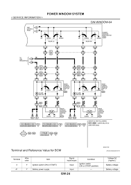 power window main switch the navara forum Wiring Diagram For Nissan Navara D40 click image for larger version name window3 jpg views 565 size 193 2 Nissan Navara D40 Interior