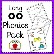 A collection of english esl worksheets for home learning, online practice, distance learning and english classes to teach about phonics, phonics. Long Oo Phonics Pack Mash Ie
