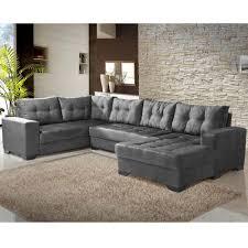 conjunto sofá de canto 5 lugares bia chaise império undefined loading zoom