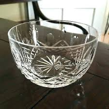 small candy dish small candy dish crystal open sugar bowl or small candy dish signed small small candy dish