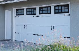 unique garage door carriage house short panel