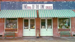 what s eating gilbert grape by annchu infogram this long shot of a sign of a local farmacy end of the line embodies the essence of endora the combination of an eye level angle and the sign being in