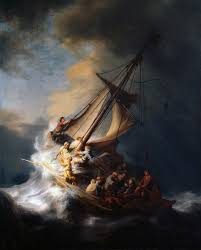 rembrandt s stolen masterpiece the storm on the sea of galilee 1633 marine painting as a particular genre separate from landscape really began with