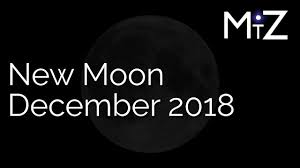 New Zodiac Chart 2018 New Moon December 2018 True Sidereal Astrology