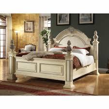 Meridian Furniture - Sienna Antique White Queen Bed - Sienna-Panel-Q