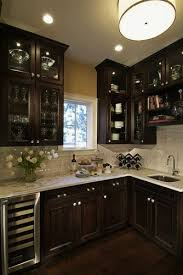 Kitchen ideas light cabinets Countertops Dark Wood Cabinet Decor Ideas Light Cabinets Glass Angels4peacecom Dark Wood Cabinet Decor Ideas Light Cabinets Glass Attachments