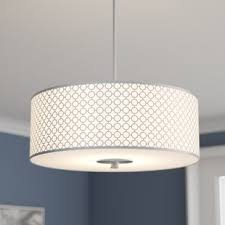 drum pendant lighting. Fayme 3-Light Drum Pendant Lighting