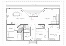 2 bedroom beach cottage house plans new ch61 small beach house plan